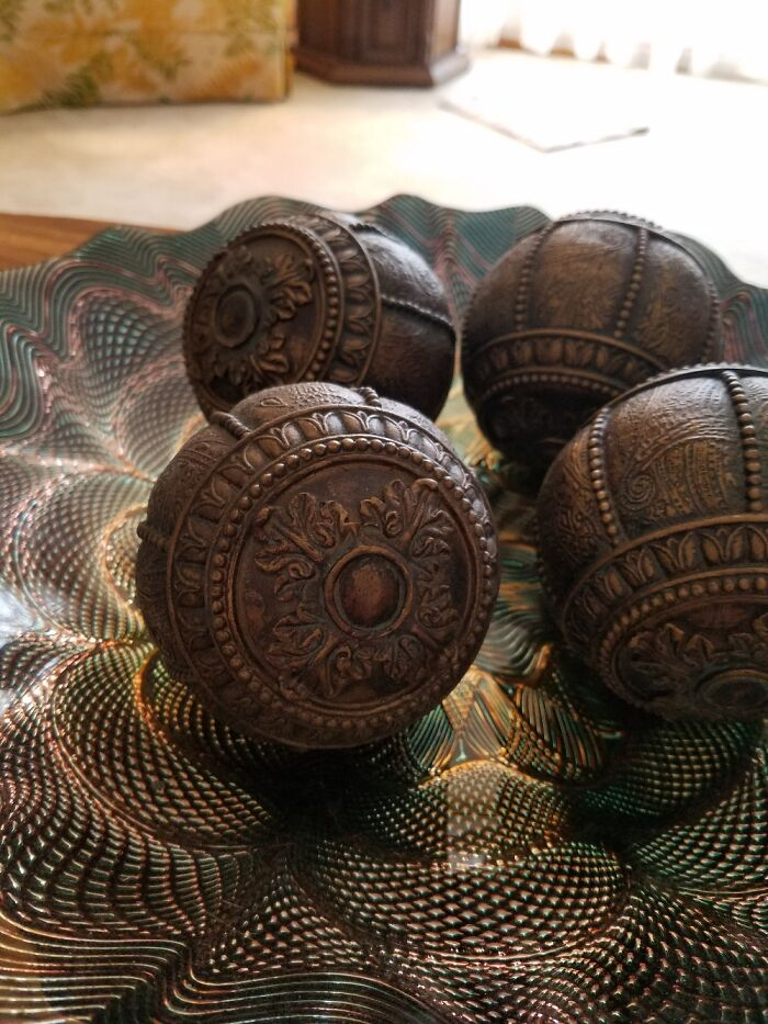 Strange Deco-Balls My Mom Thought I Had To Have...