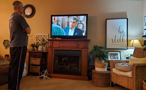 25 Meme-Worthy Photos Capturing Dads Watching TV