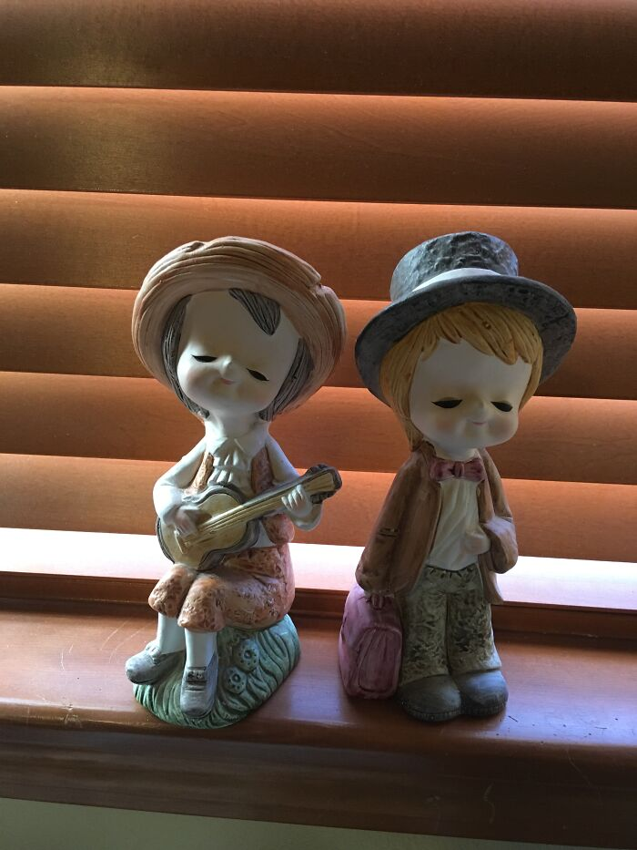 These Antique Figurines Given To Me By My Great Grandma.