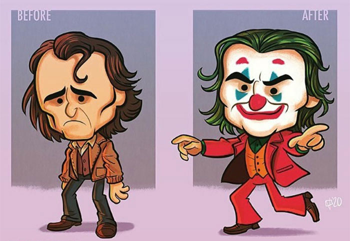Artist Illustrates How Our Favorite Characters Have Changed In 40 Adorable Illustrations