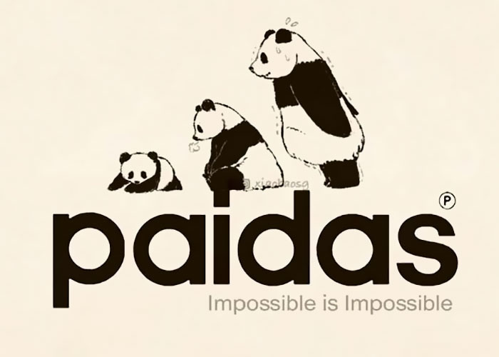 I Make Famous Logos Look More Entertaining By Adding Pandas To Them (18 Pics)