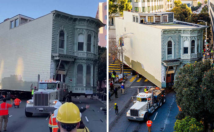 Guy Pays $400k To Have His $2.6M Victorian House Moved 7 Blocks In San Francisco
