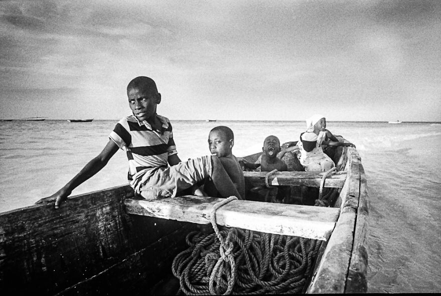 Kids Of Nungwi (3rd Place / Analog / Film / Other)