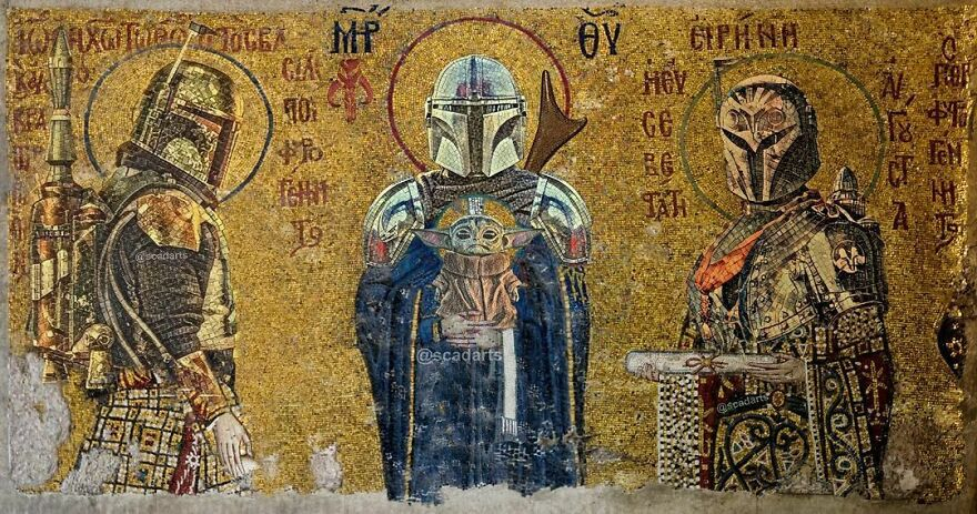 The Holy Mandalorian Trinity