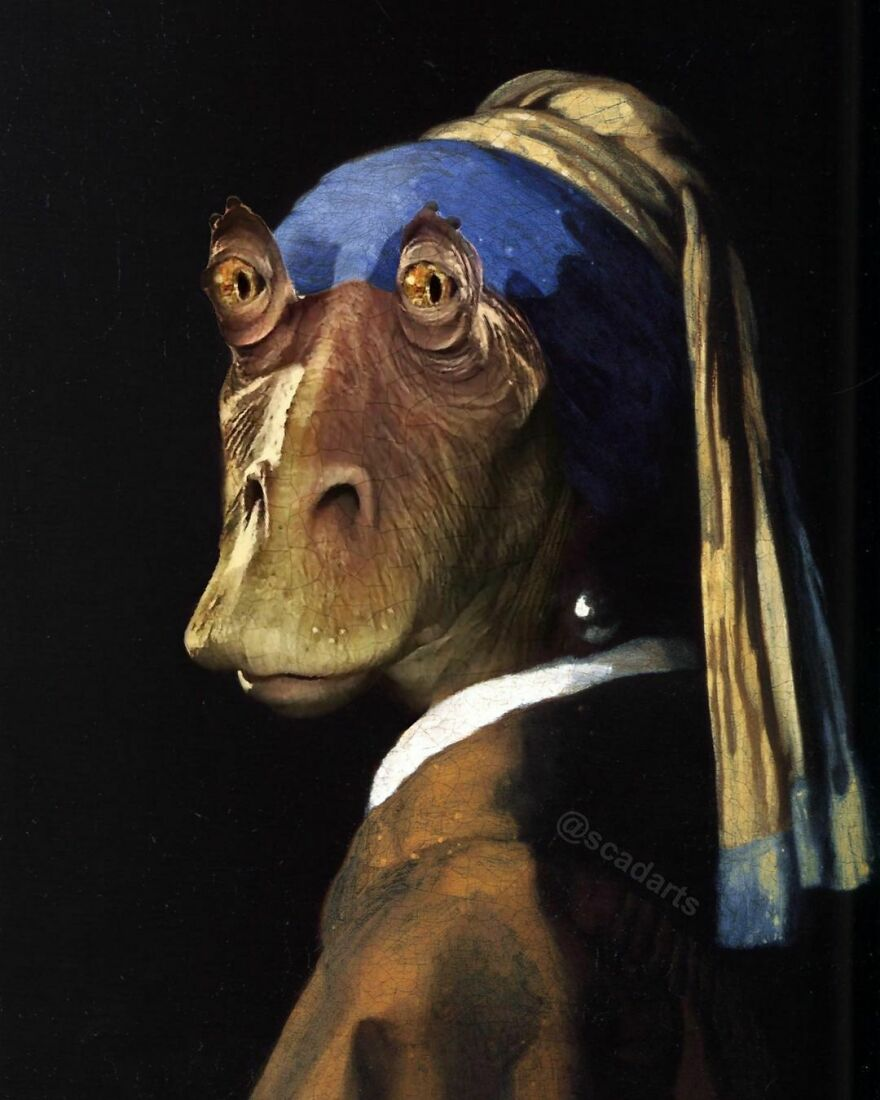 Binks With A Pearl Earring