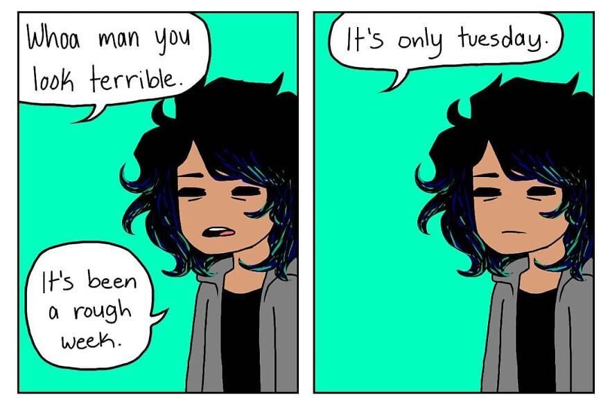 The Comics Of This Young And Talented Artist Will Hit Teenagers, Young And Adults