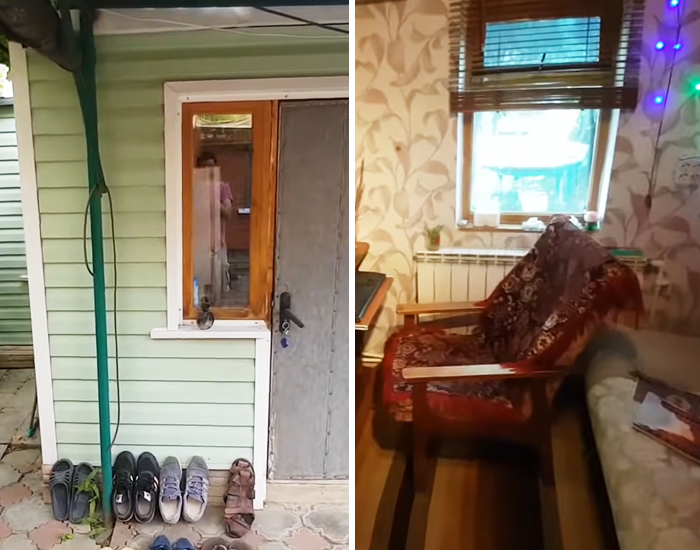 This Russian Guy Lives In An Apartment That Costs $100/Month And Here's What It Looks Like