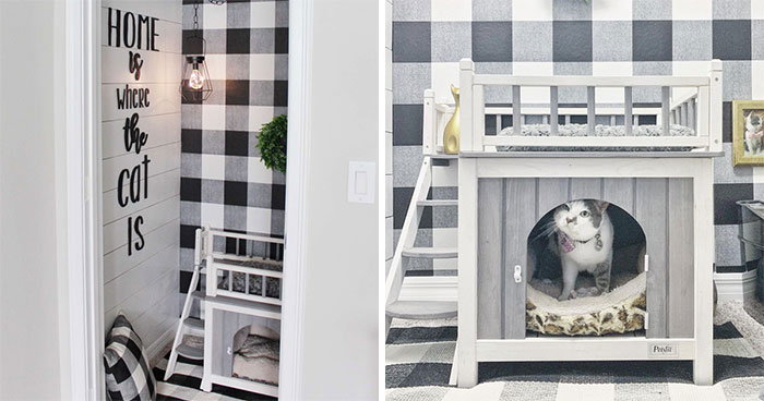 The Most Spoiled Cat You'll Ever Meet Has Her Own Stylish Room