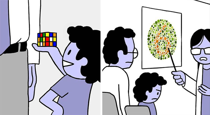 Artist Adds Twisted Endings To His Seemingly Innocent Comics (40 New Pics)