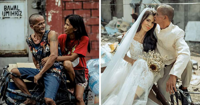 Homeless Couple Get A Makeover And A Surprise Charity Wedding After Being Together For 24 Years