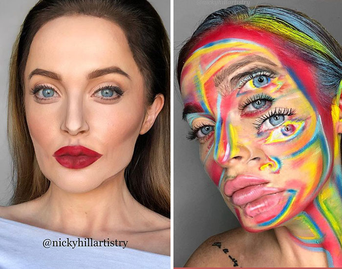 This Makeup Artist Transforms Herself Into Almost Anyone And Anything, And Here Are 30 Pics