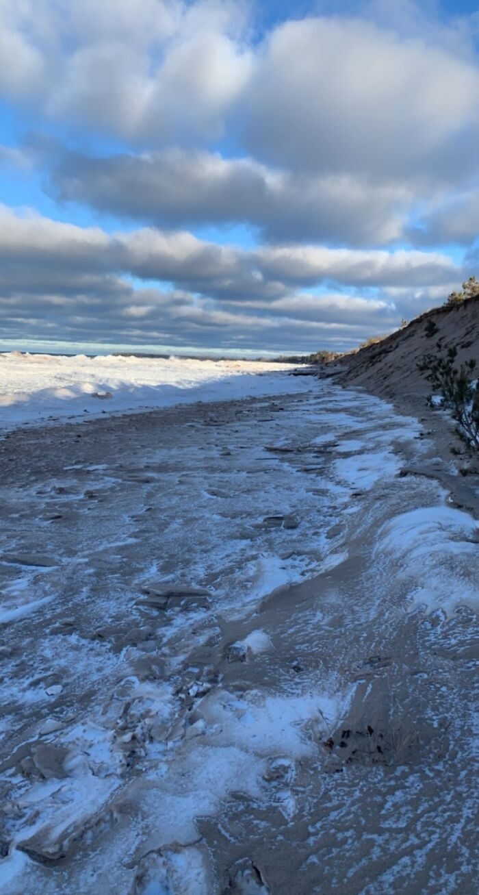 Lake Superior On A Winter Afternoon