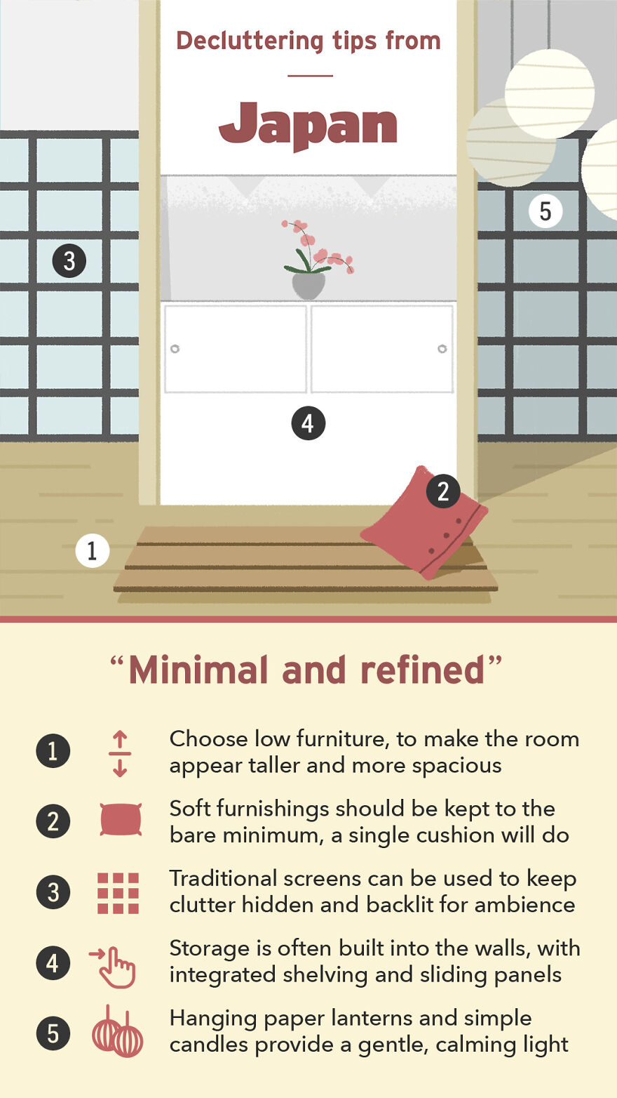 Decluttering Tips From Japan