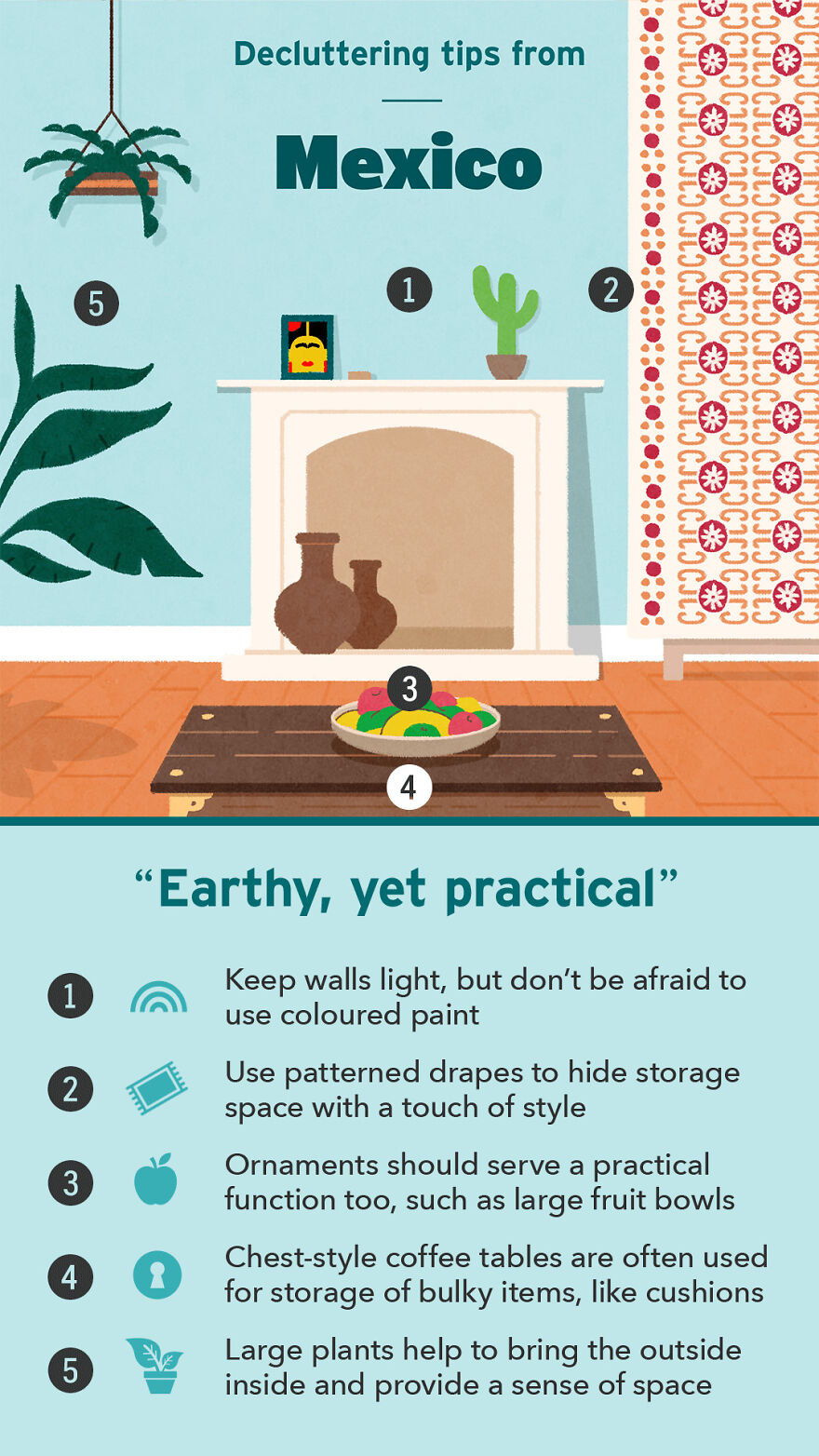 Decluttering Tips From Mexico