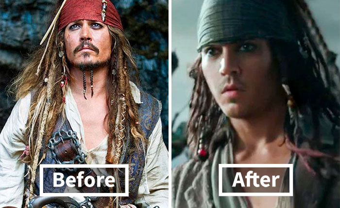 21 Actors Who Were De-Aged Using Digital Technology To Look Younger On Screen