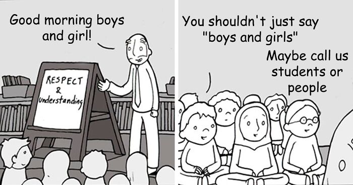 Dad Creates Honest Comics About The World And Kindness (30 Pics)