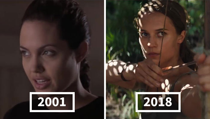 18 Then And Now Photos Showing How Popular Female Film Characters Changed