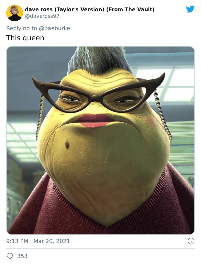 Roz, Voiced By Bob Peterson, In Disney's Monsters Franchise