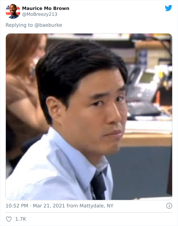 Asian Jim (Steve), Portrayed By Randall Park, In The Office (2005)