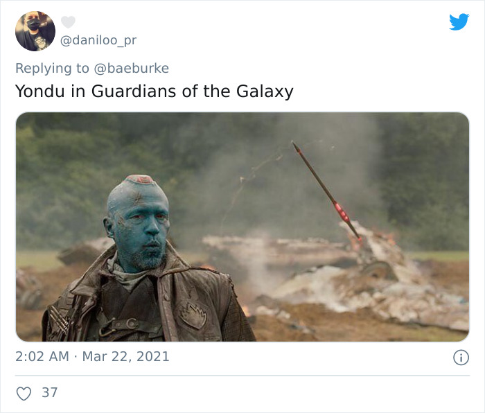 Yondu, Portrayed By Michael Rooker, In Guardians Of The Galaxy (2014)