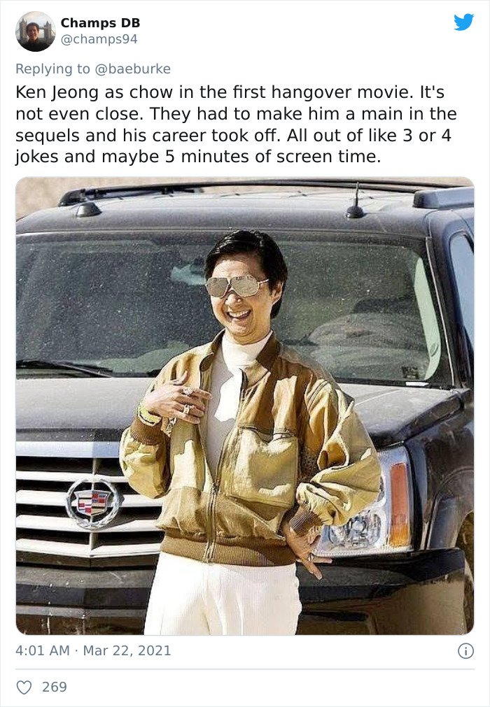 Mr. Chow, Portrayed By Ken Jeong, In The Hangrover Movies