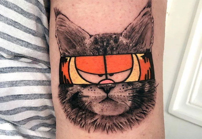 45 Tattoos Created From Two Different Styles By Mat Rule