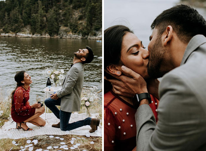 Couple Proposed To Each Other By Accident During This Photoshoot