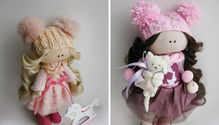 Here Are My Magic Dolls
