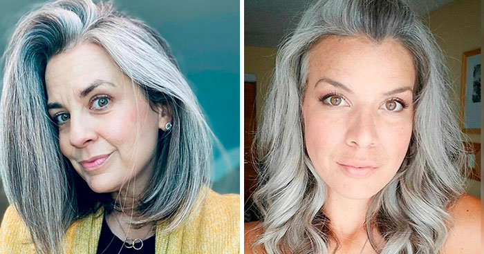 "30 ""Free The Silver"" Looks From Women Who Ditched Hair Dye"