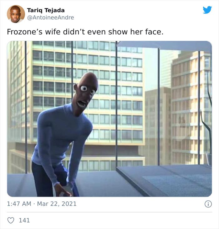 Honey Best, The Wife Of Lucius Best, A.k.a. Frozone, Voiced By Samuel L. Jackson, In The Incredibles Universe
