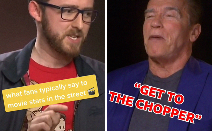 20 Movie Stars Answer What Fans Typically Say To Them On The Street