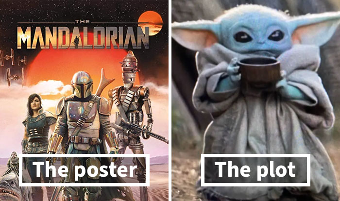 """32 Pictures Of """"The Poster, The Plot"""" Memes Poking Fun At Famous Movies And TV Shows"""