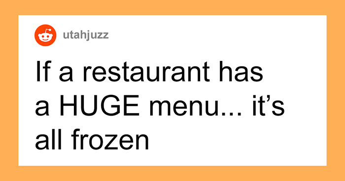 """30 Chefs Reveal Restaurant """"Red Flags"""" That Indicate You Should Eat Somewhere Else"""