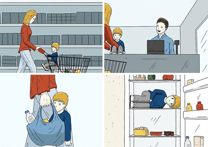 28 Comics With Twisted Endings For People With A Dark Sense Of Humor (New Pics)