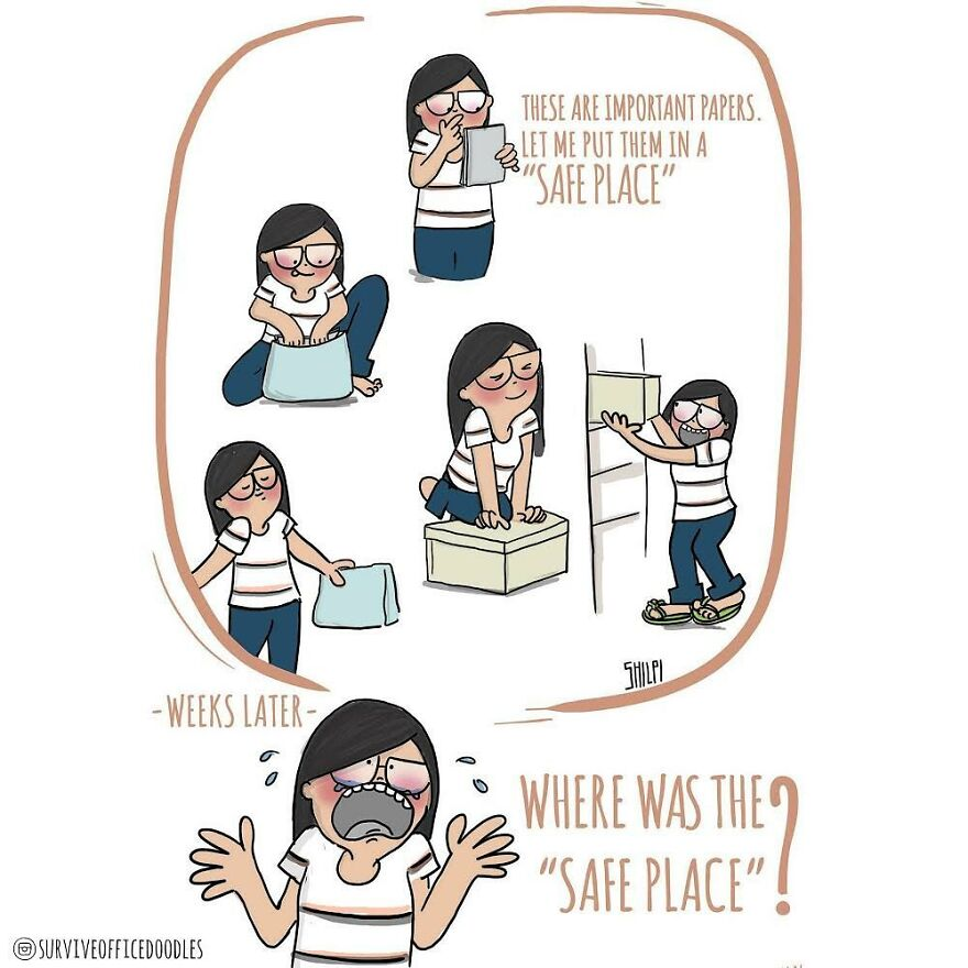 Indian Artist Shows The Daily Problems Of Women In A Fun Way