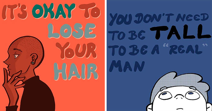 """""""Male Body Image Issues Are Important:"""" 30 Illustrations By BoPoLena"""