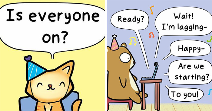 This Artist Creates Wholesome Comics To Make People Smile, And His 210K Instagram Followers Love It (30 Pics)