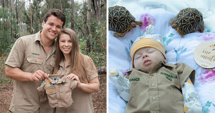 Steve Irwin's Daughter Bindi Gives Her Baby Her First Australia Zoo Khakis