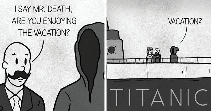30 Funny Comics By StrangeTrek For People Who Like Horror And Pop Culture