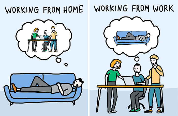 My 30 New Cartoons That Show How COVID-19 Affected Our Lives