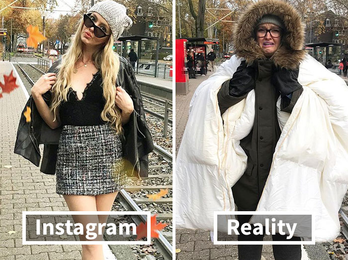German Artist Shows The Reality Behind Those Perfect Instagram Photos (59 New Pics)