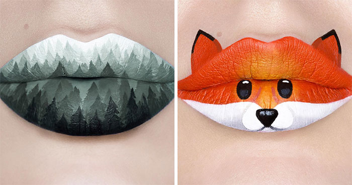 Artist Andrea Reed Turns Lips Into Artwork And Here Are 40 Of The Most Stunning Designs
