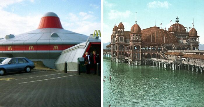 35 Interesting Buildings That Got Lost As The World Changed, Posted On 'Lost Architecture'