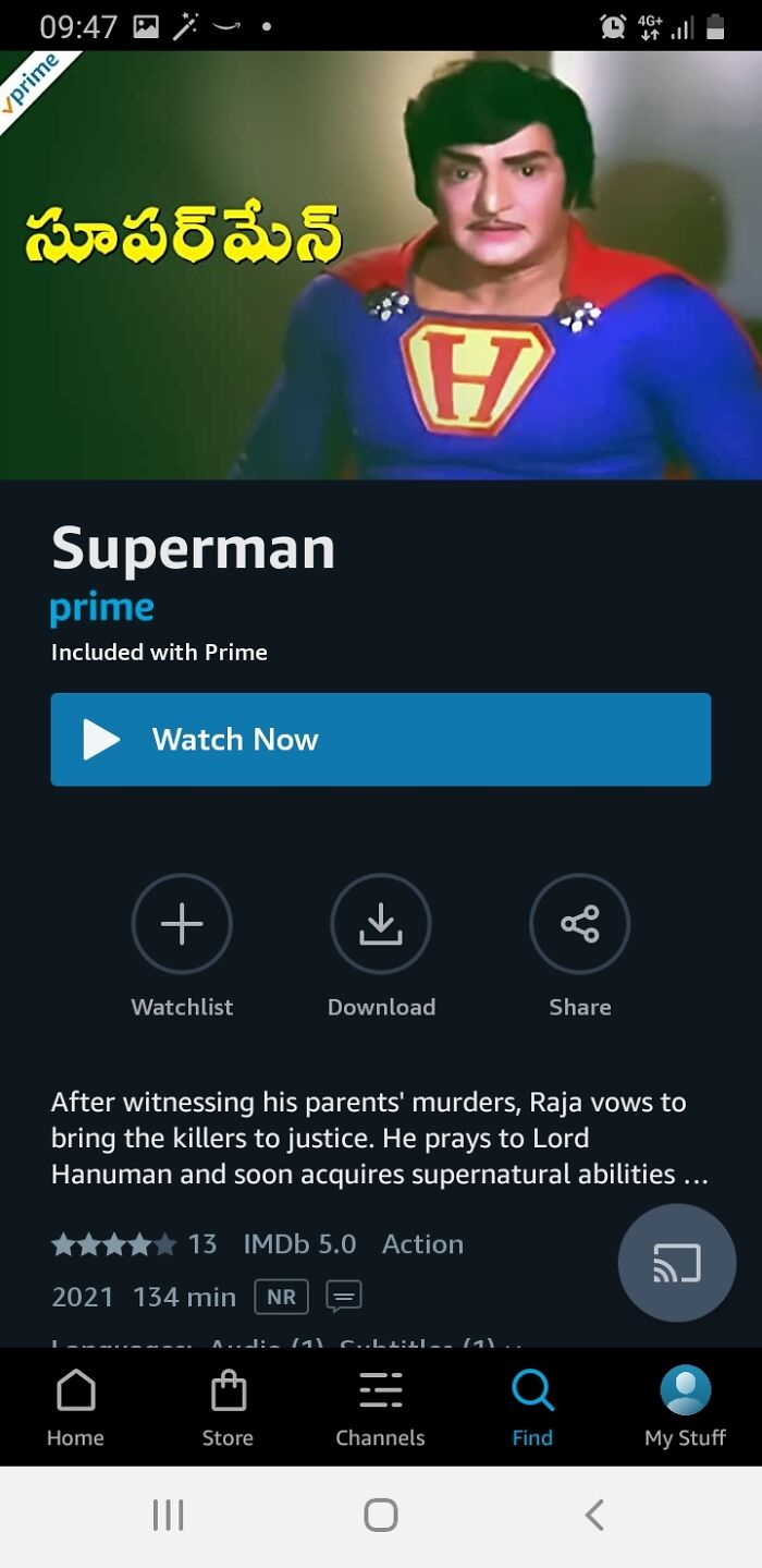 This Is Actually Real And Actually On Prime Video