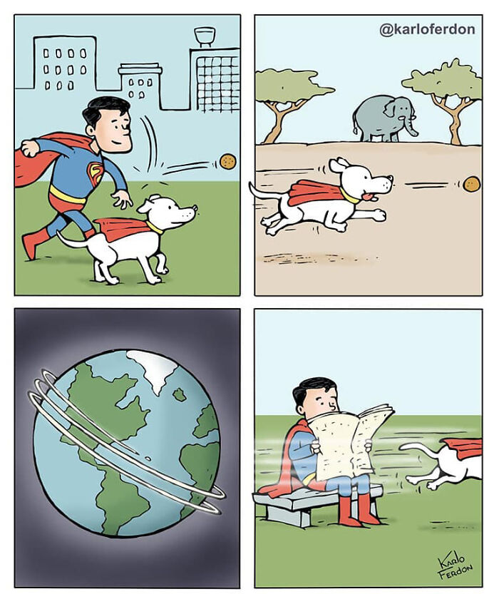 Artist Shows The Not-So-Glamorous Daily Life Of Superheroes (31 New Comics)