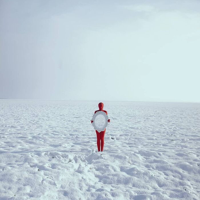 I Create Surreal Images Using Full-Body Suits