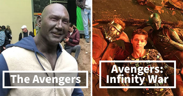 30 Wholesome And Unexpected Behind-The-Scenes Pics That Show The Special Marvel Movie Magic