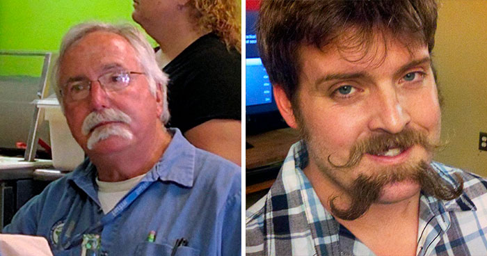 30 Times Men Decided To Try Out The Double Mustache Beard Trend And Got Ridiculous Results