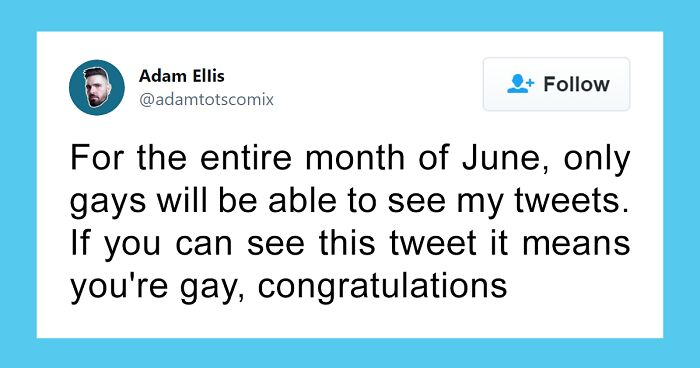 30 Of The Funniest Memes And Tweets To Kick Off Pride Month