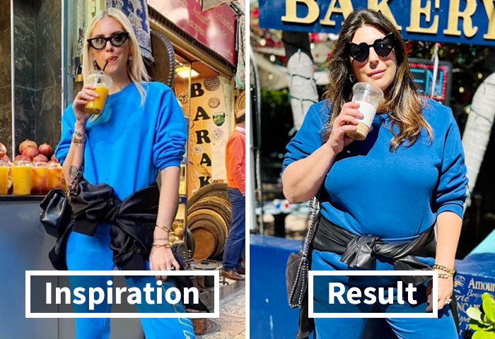 Woman Dresses Like Celebrities To Show That You Don't Have To Be Skinny To Look Good (New Pics)